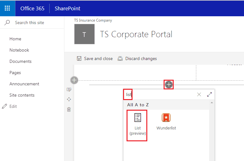 SharePoint Online modern list web part
