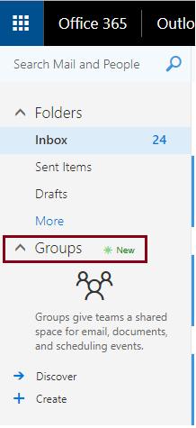 Add group calendar office 365