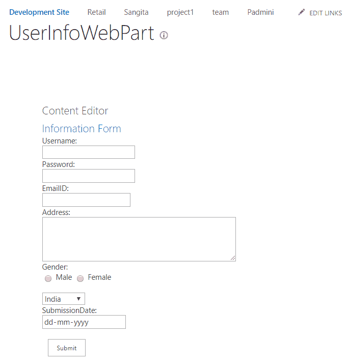 add item to sharepoint list using jsom