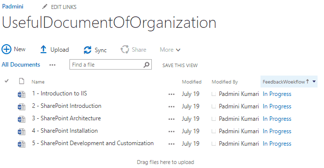 customize collect feedback workflow sharepoint 2010