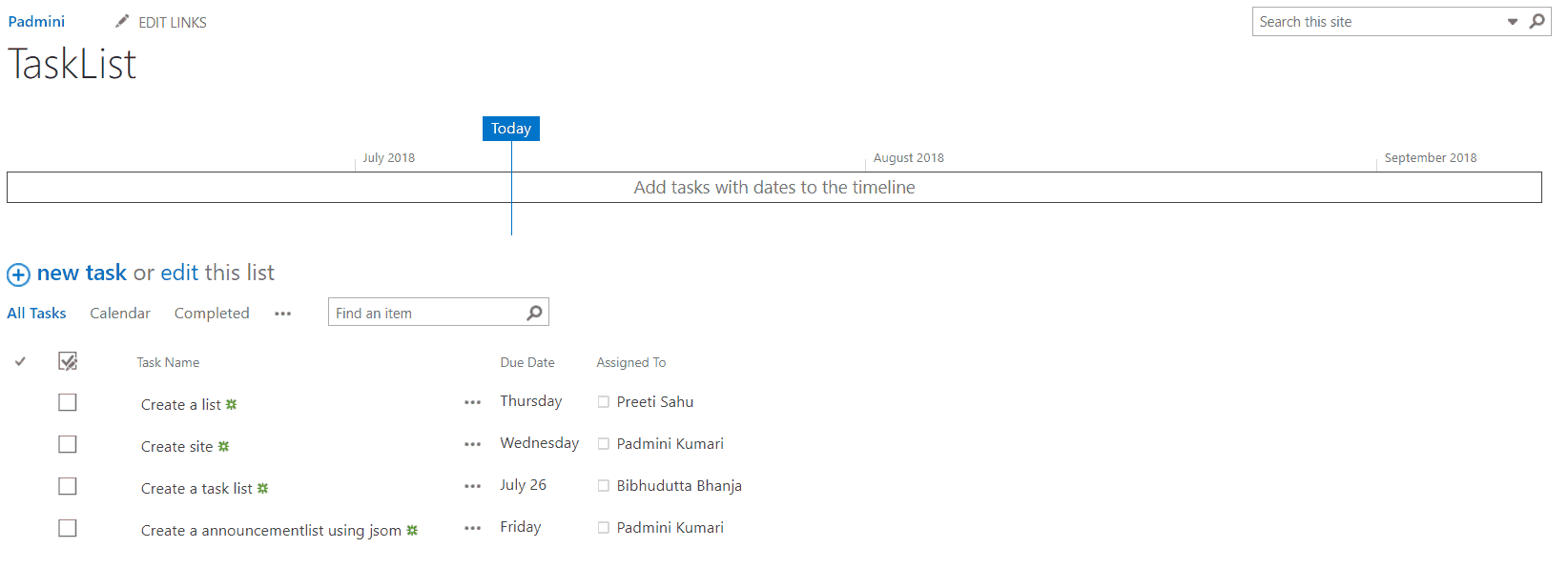 get sharepoint list items using javascript sharepoint 2013