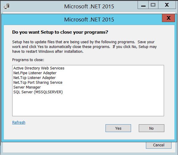 microsoft .net framework 4.6 setup offline