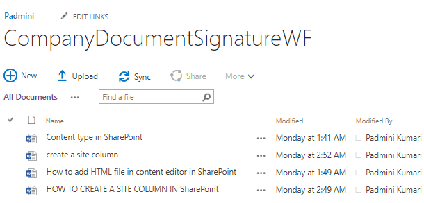 sharepoint digital signature field