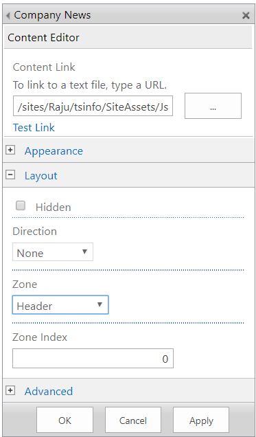 move web part to another zone sharepoint 2013