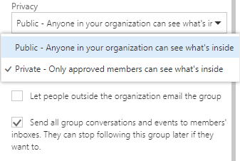 sharepoint online group calendar permissions