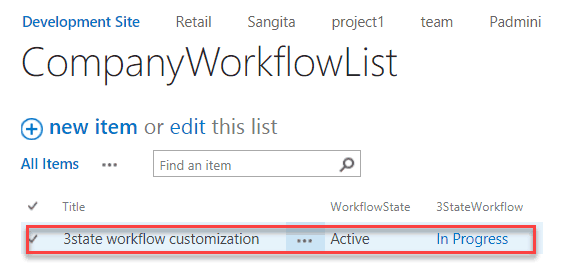 sharepoint 2010 how to use three state workflow