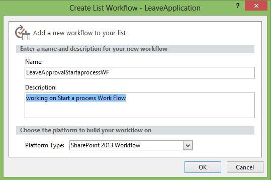 Start a task process SharePoint designer 2013 workflow action