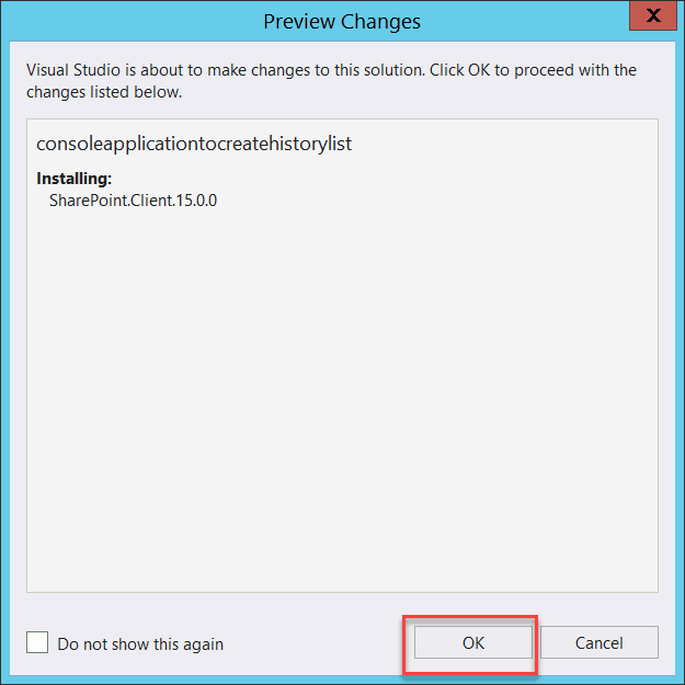 how to create workflow history list in sharepoint 2013 csom