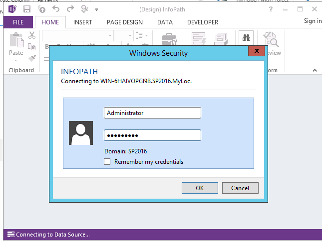 edit infopath form in sharepoint 2013