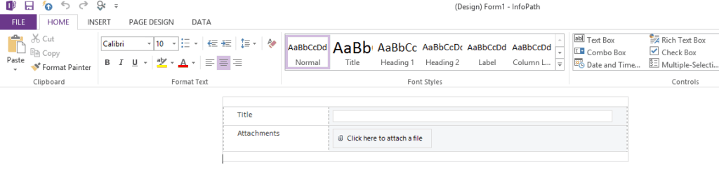 publish infopath form to sharepoint 2010