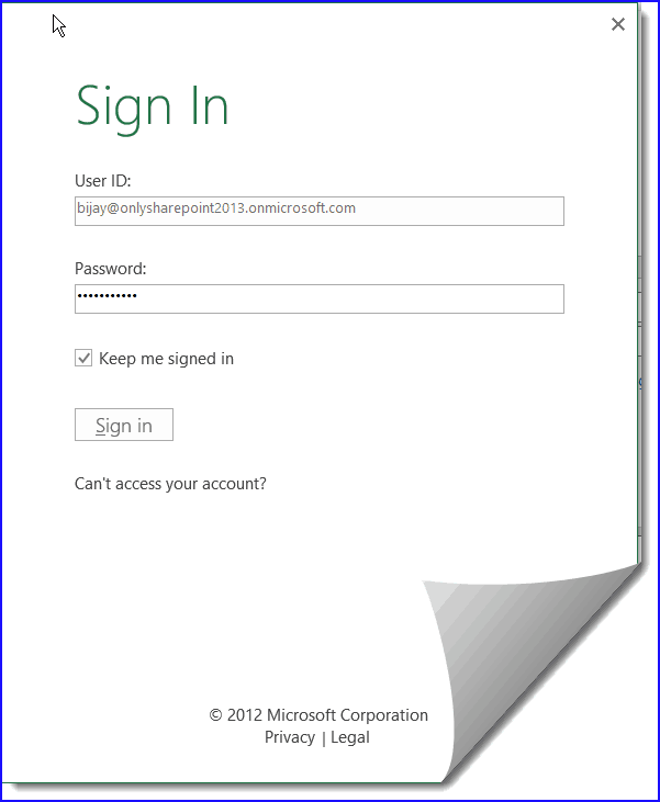 save excel to sharepoint document library