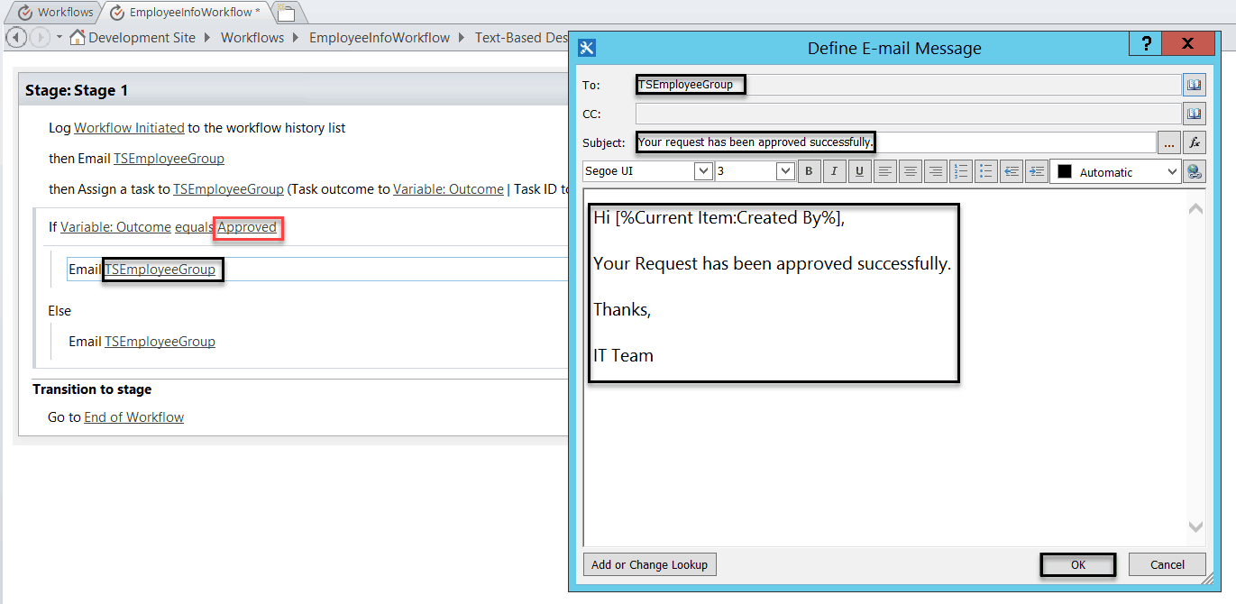 sharepoint 2013 workflow assign task to group