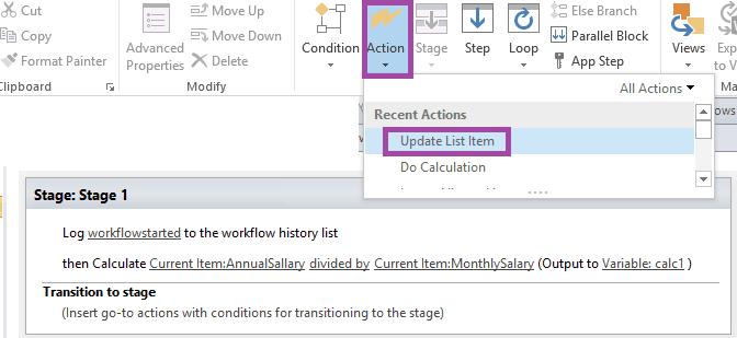 sharepoint designer do calculation