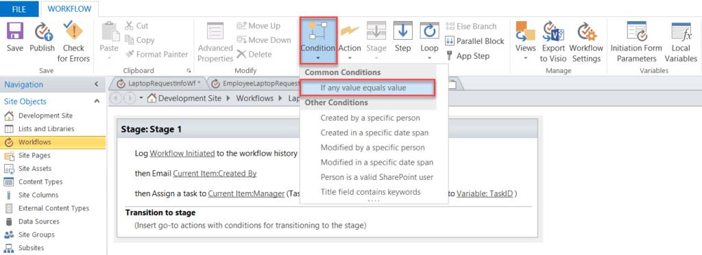 sharepoint designer approval workflow