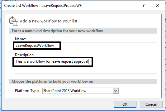 create workflow in sharepoint designer 2013 step by step