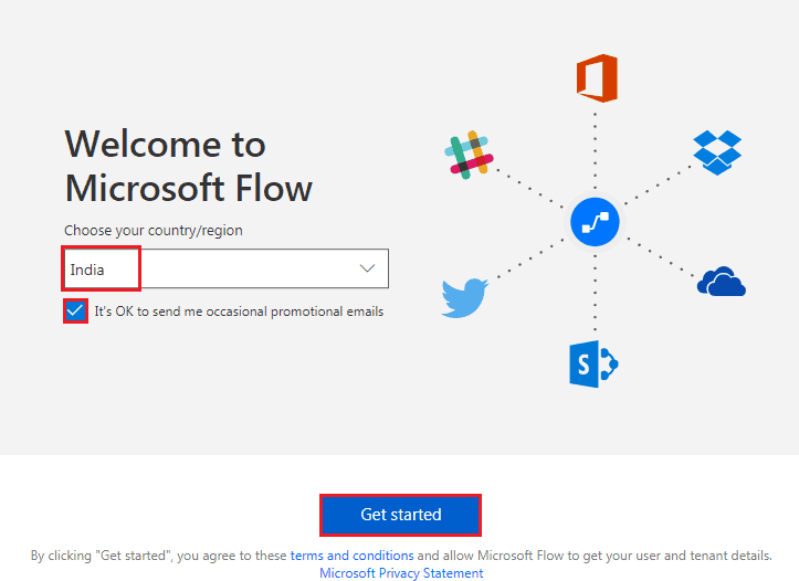 Microsoft Flow Example: Send a customized email when a new