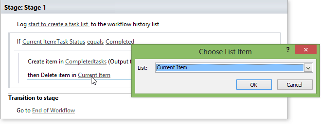 sharepoint workflow create list item in another site
