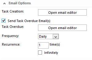 sharepoint designer 2013 workflow start a task process