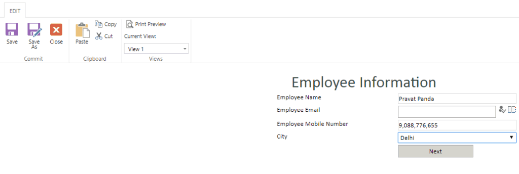 infopath view based on sharepoint group