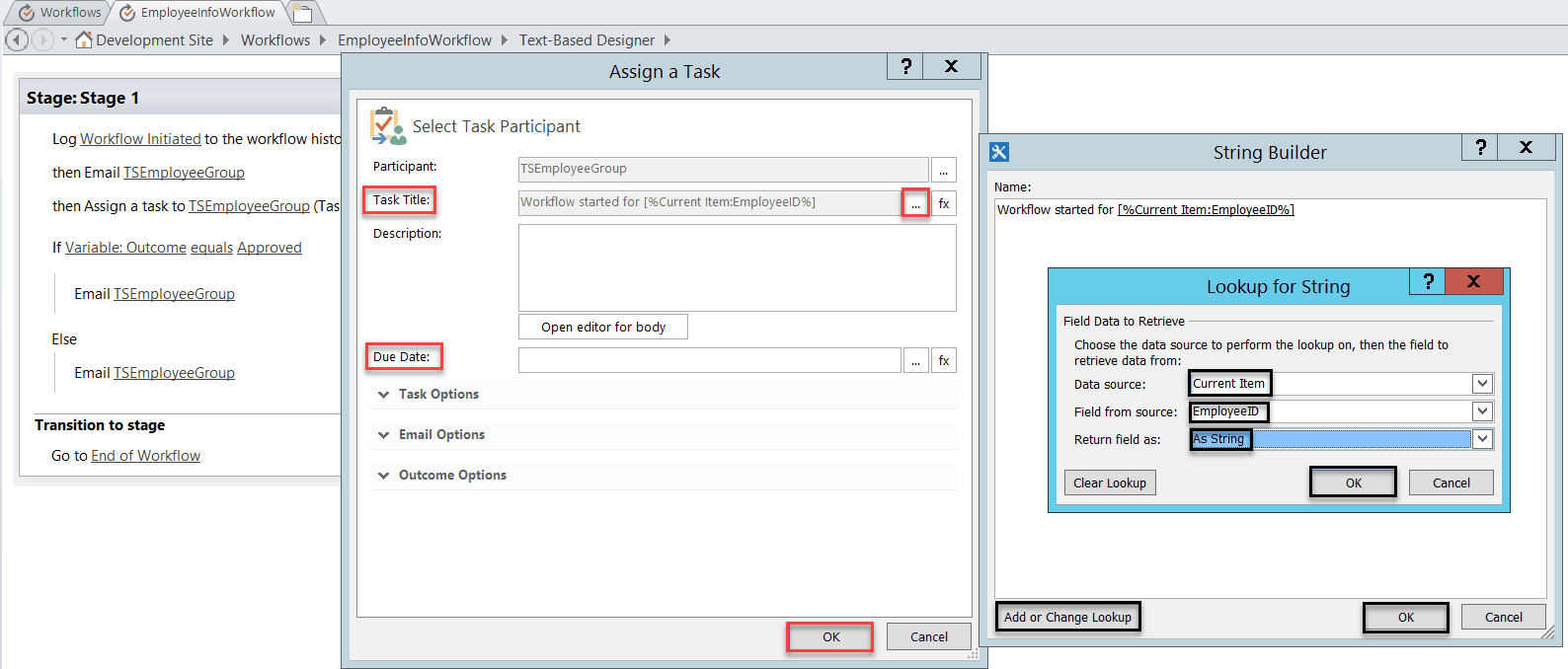 sharepoint designer 2013 workflow assign task to multiple users