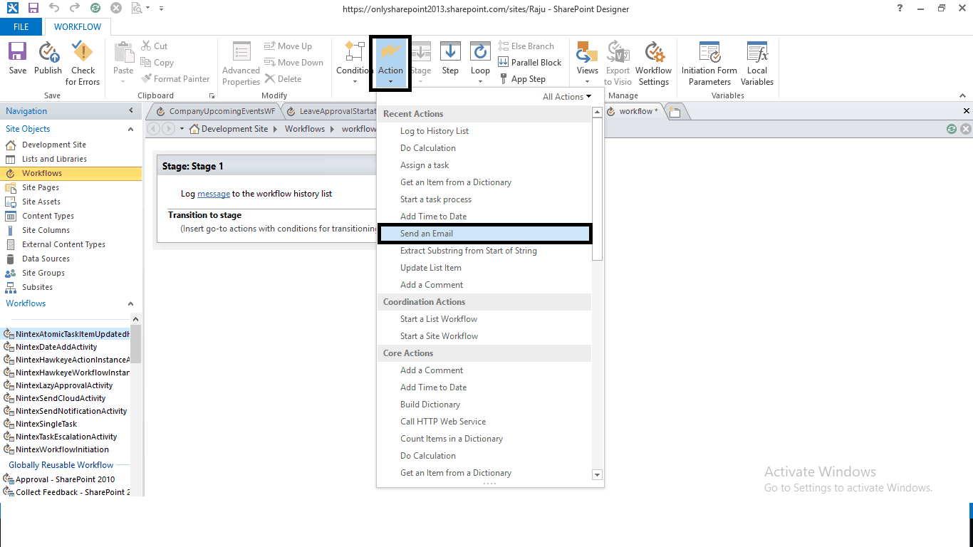 sharepoint designer 2013 tutorial