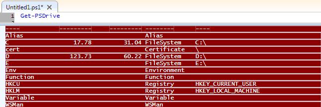 PowerShell get registry value data