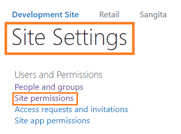 sharepoint access request settings