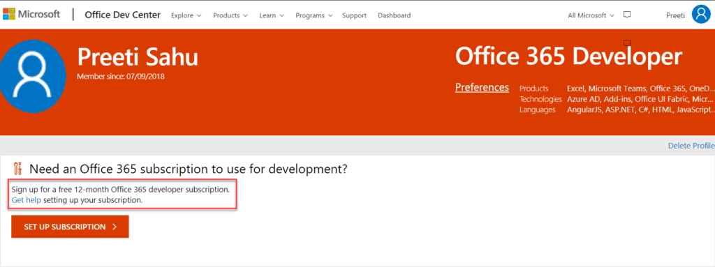 microsoft office developer