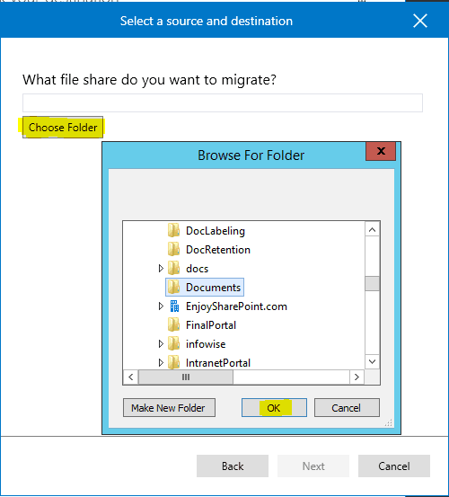 How to use Microsoft SharePoint migration tool