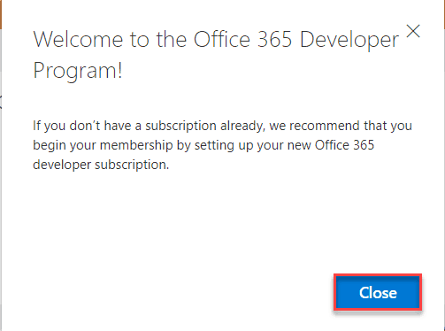 office 365 developer subscription benefits
