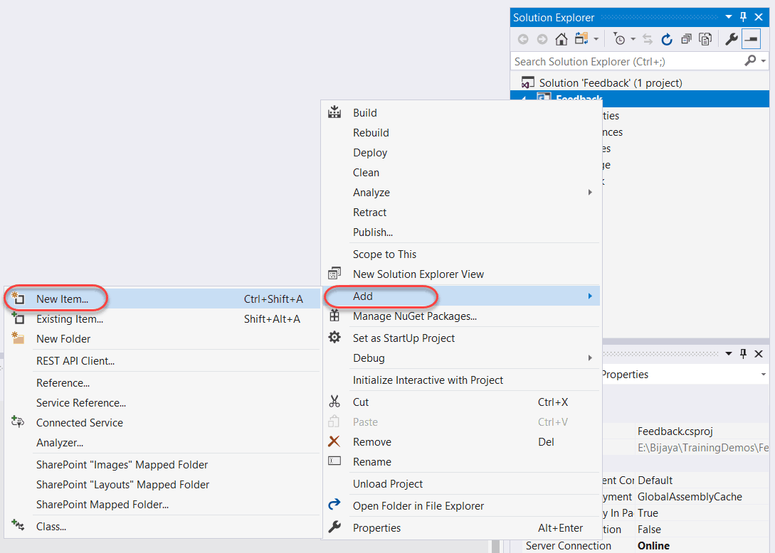 Add, Update, Delete & Display List items in Gridview