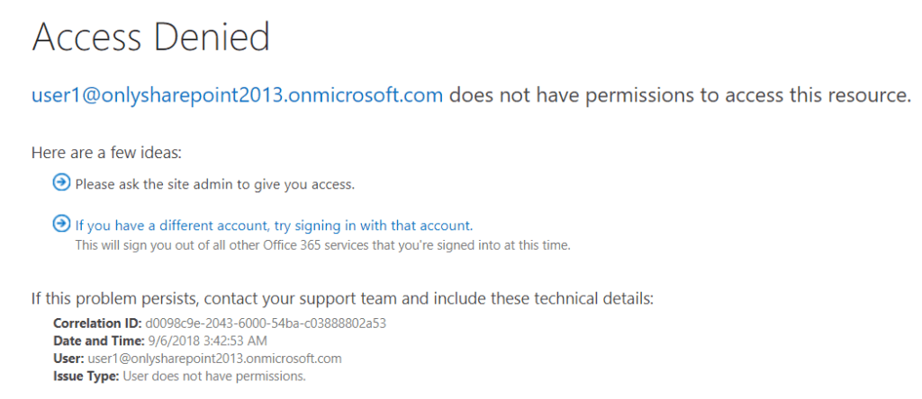sharepoint online access request settings multiple email