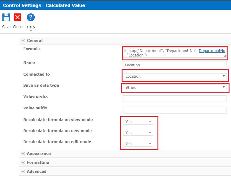 nintex forms lookup runtime functions