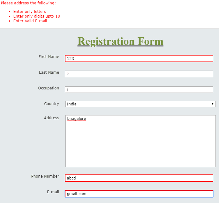 Numerical and Alpha Field Validation nintex form