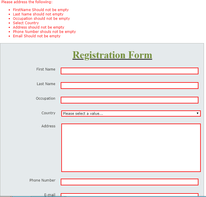 nintex form validation