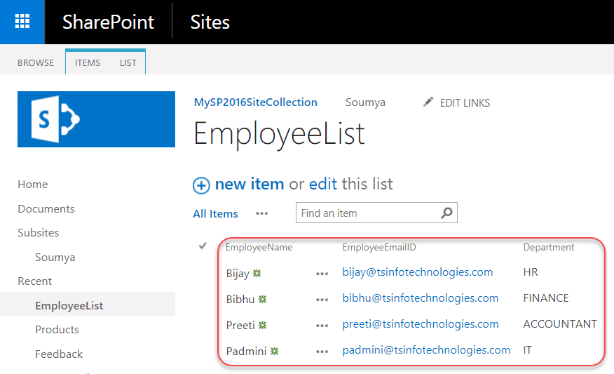 choice filter web part in sharepoint 2016