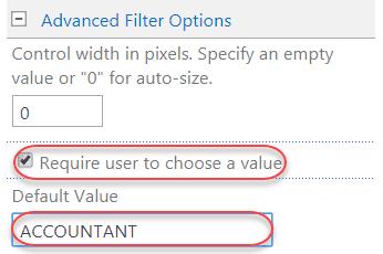 sharepoint 2013 choice filter web part