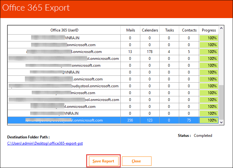 office 365 export mailbox to pst