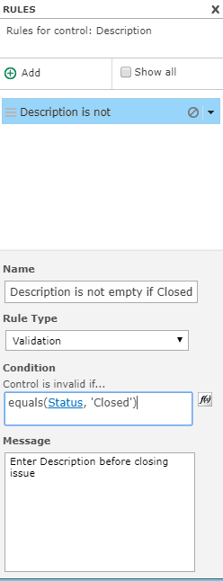 how to make a field required is based on choice nintex forms
