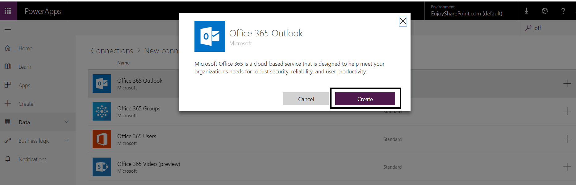 PowerApps Send an Email on Submit Button - SharePointSky