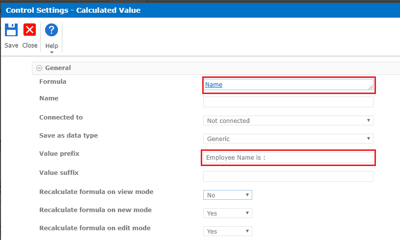 nintex forms calculated field