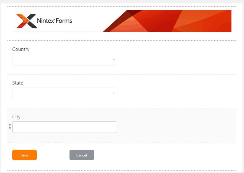 nintex forms cascading dropdown