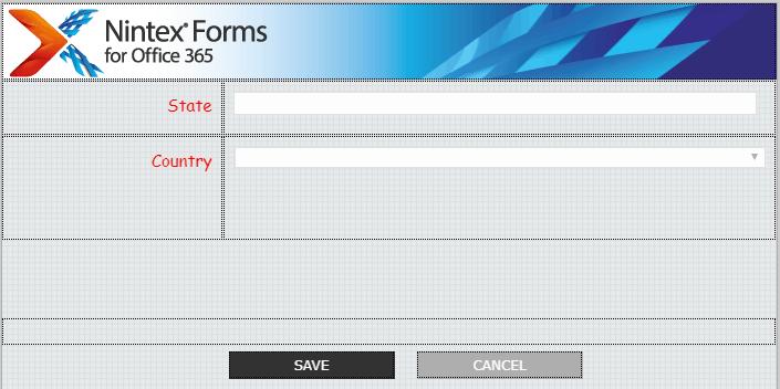 nintex forms disable save button