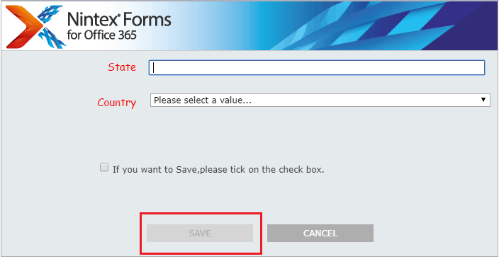 nintex forms enable or disable