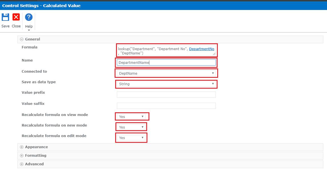 nintex forms lookup function example