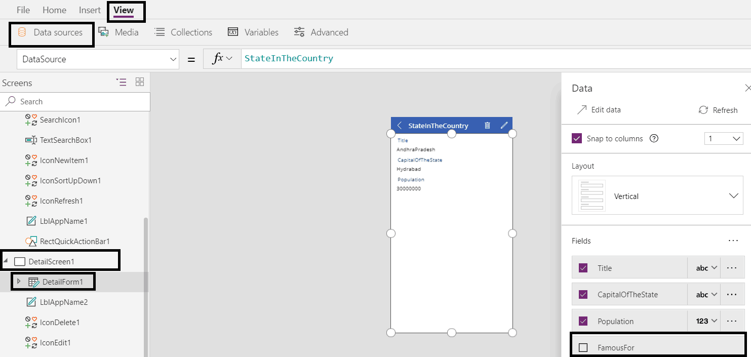 powerapps samples