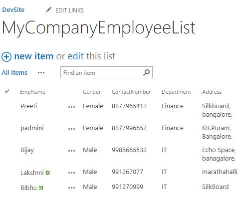 Bind SharePoint List items in dropdown list programmatically