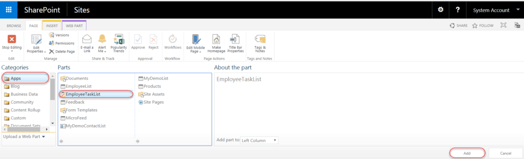 date filter web part sharepoint 2016