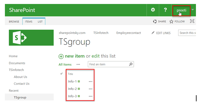 how to give unique permissions to sharepoint online list items