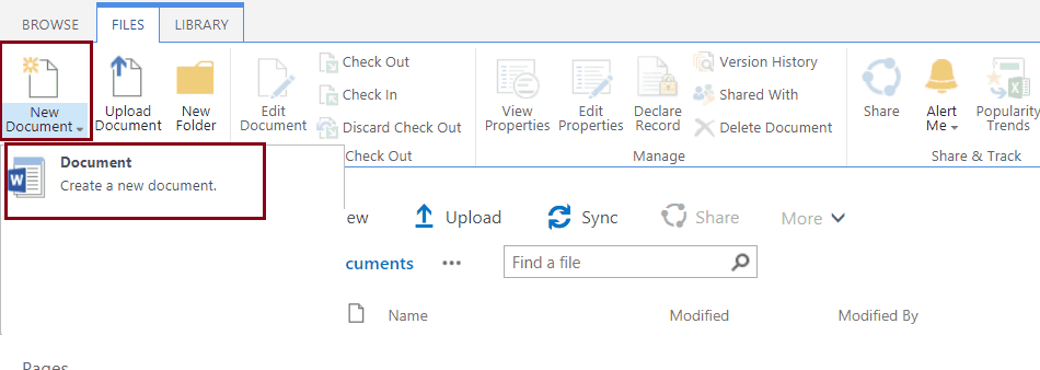 Add Multiple Office Templates As Content Type To A Document Library
